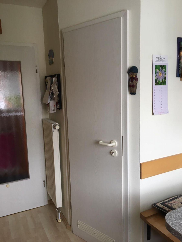 Tür zum Abstellraum