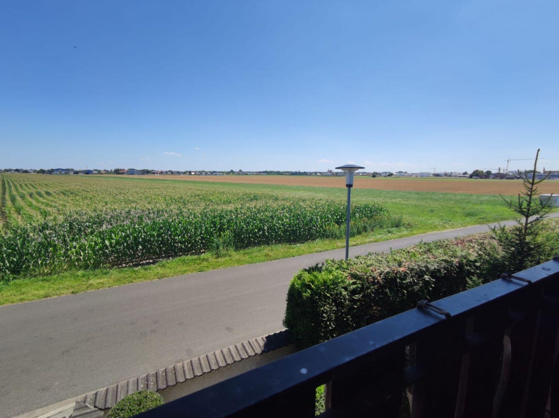 Ausblick vom kleinen Ostbalkon