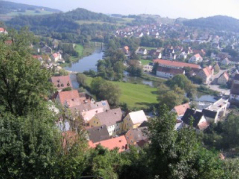 Blick von der Burg in die Stadt